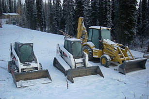 Equipment rentals in Sterling Alaska, Cooper Landing, Nikiski, Anchor Point, Seward, Homer, & Soldotna AK