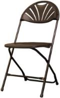 Rental store for BLACK FANBACK FOLDING CHAIR in Soldotna AK