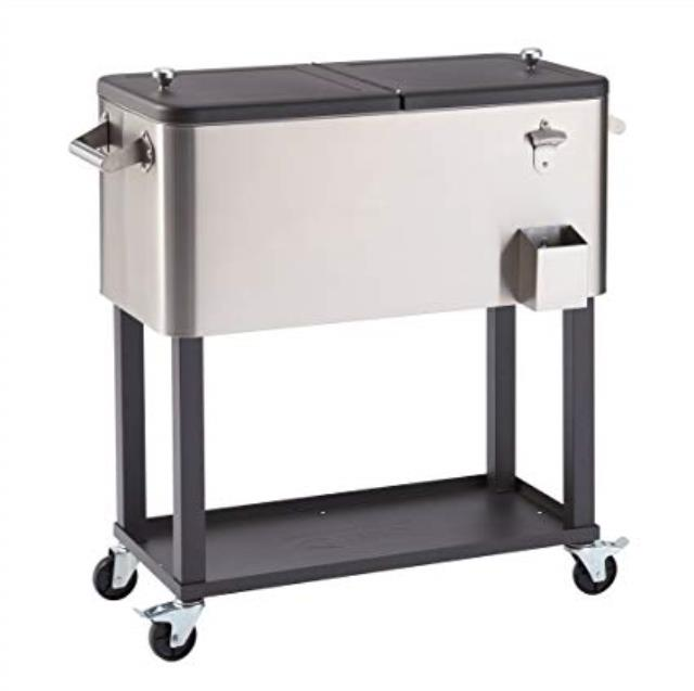 Where to find SS COOLER CART 60 QT SMALL in Soldotna