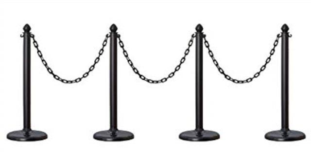 Where to find BLACK PLASTIC STANCHION in Soldotna