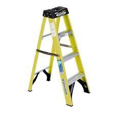 Where to find 4  FIBERGLASS A-FRAME LADDER in Soldotna